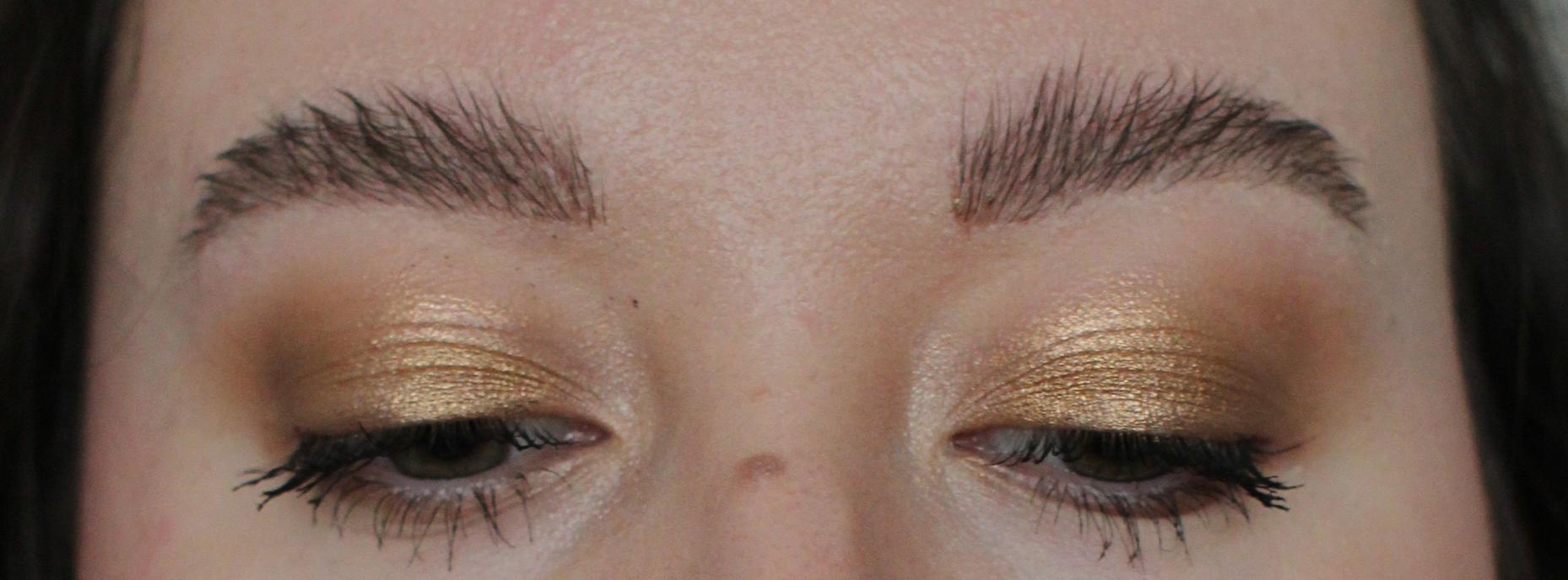 Saippuakulmat eli soap brows: lopputulos
