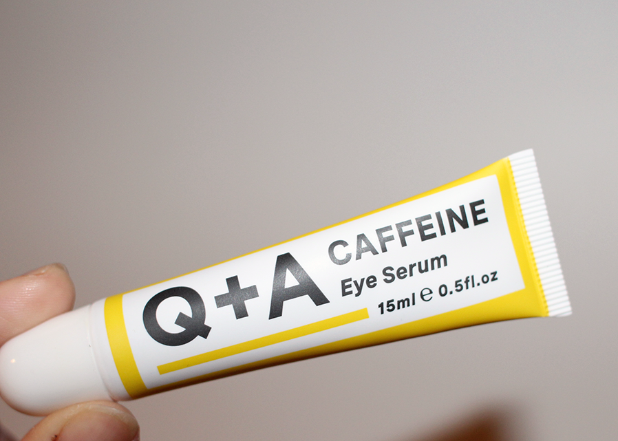 q+a caffeine eye serum
