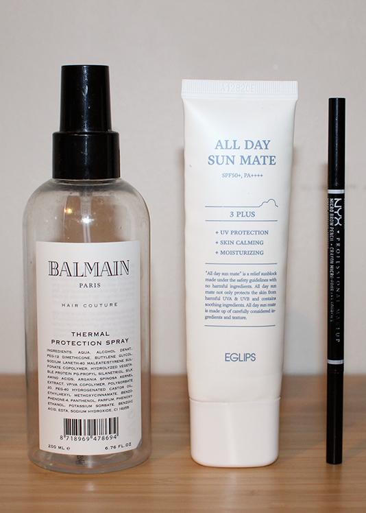 Tyhjät kosmetiikkatuotteet