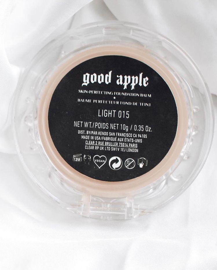 KVD Good Apple Foundation Balm takaa