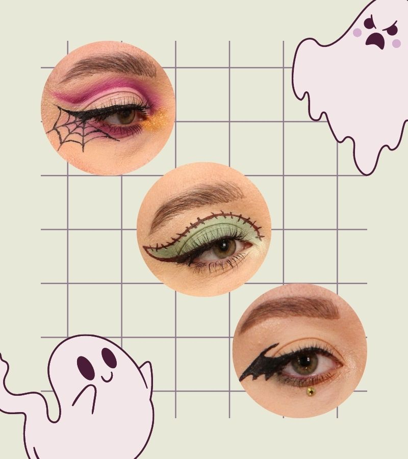 3 helppoa halloween-meikkiä